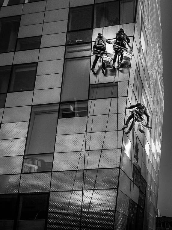 """Highland Window Washers,"" Digital Realism, Cary Wolfson"