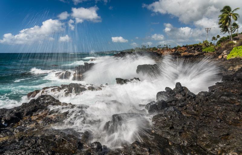 "Honorable mention, Digital Realism, ""Hawaii Wave,"" Ning Mosberger-Tang"
