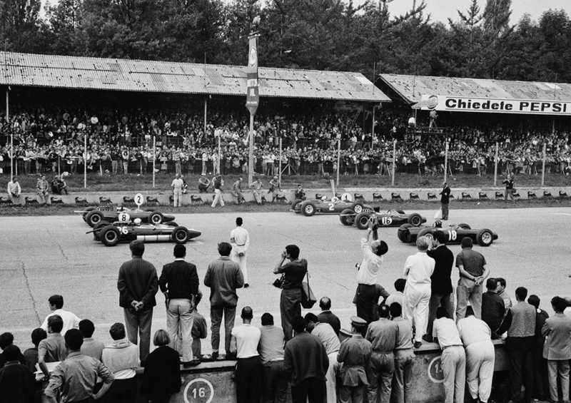 "Award, Digital Realism, ""1964 Italian Grand Prix,"" Richard Smith"