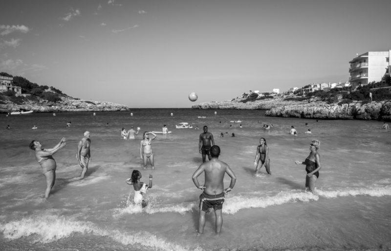 "Award, Digital Realism, ""Mallorca Beach,"" Ning Mosberger Tang"