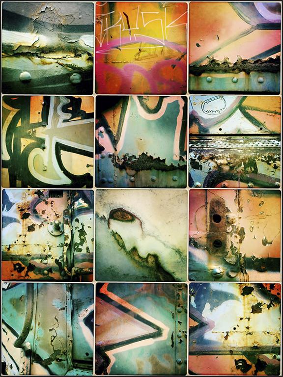 "Award, Digital Special Topic, ""Train Graffiti,"" Gail Dohrmann"