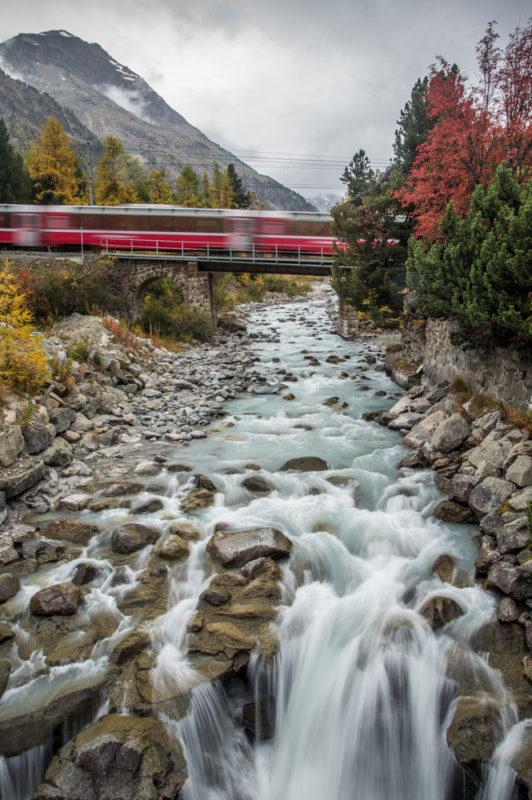 "Award, Digital Special Topic, ""Swiss Train,"" Ning Mosberger-Tang"