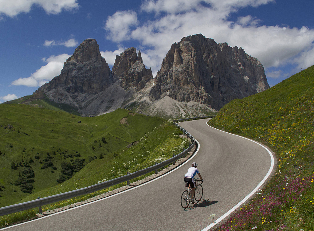 "Award, Digital Special Topic, ""Dolomite Road Biker,"" John Kieffer"