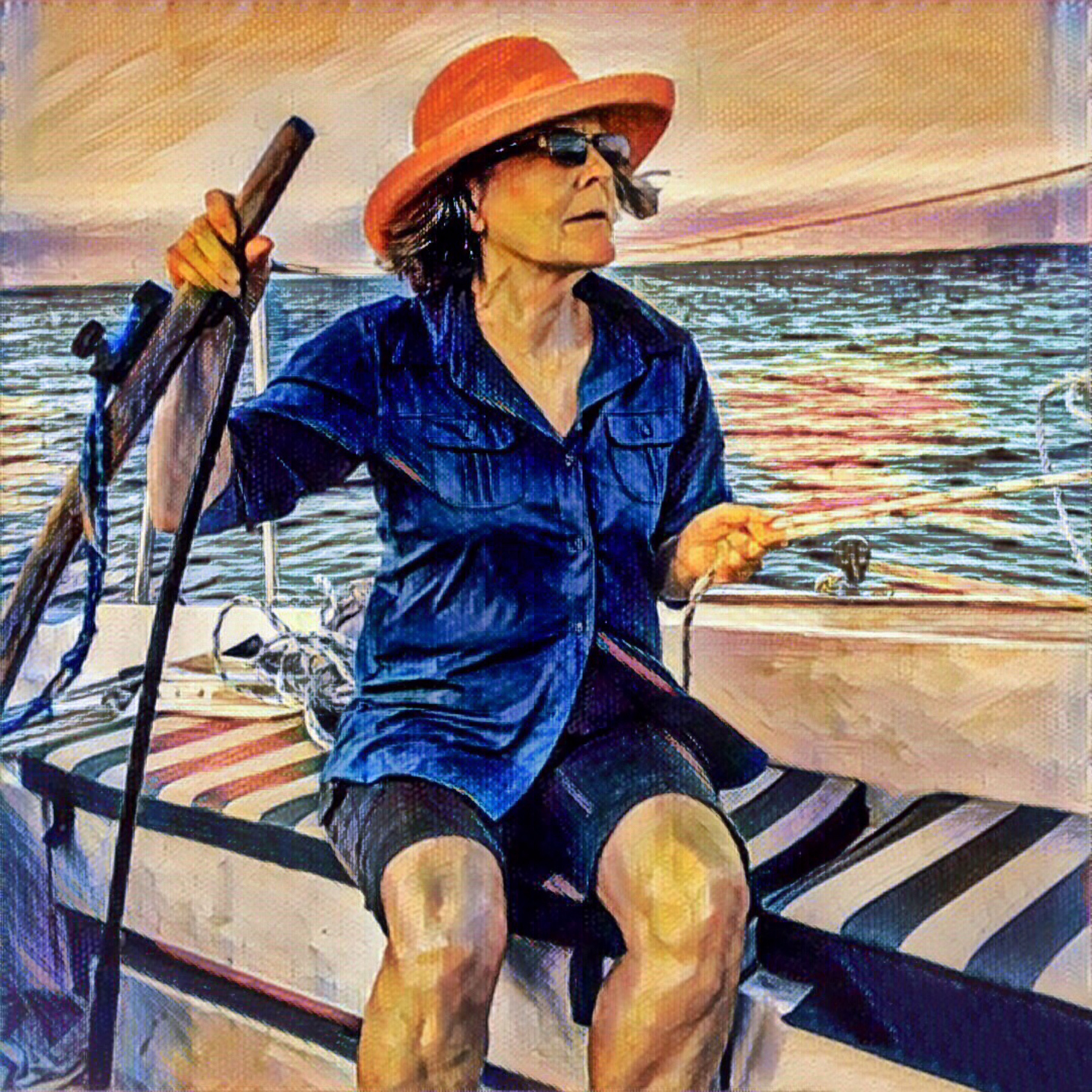 """Award, Print Special Effects, """"Sailor Girl,"""" Cary Wolfson"""