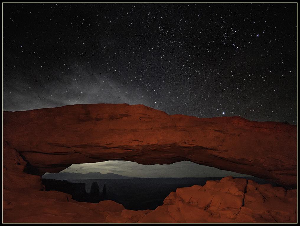 "Award, Digital Special Effects, ""Mesa Arch Point,"" John Kieffer"